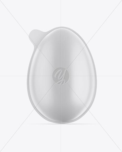 Matte Chocolate Egg Pack Mockup