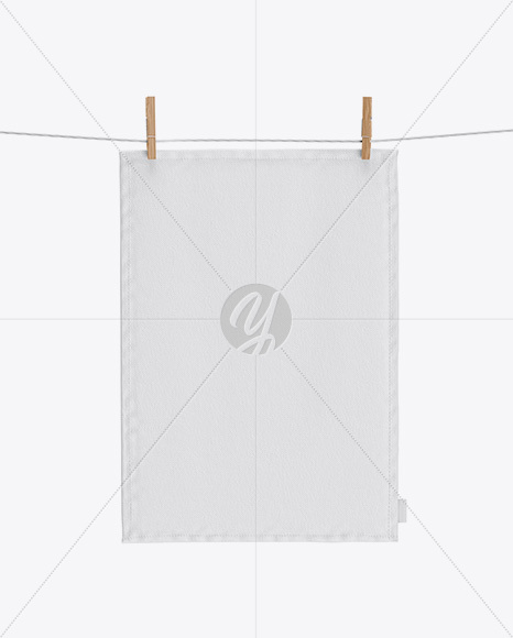 Download Kitchen Towel Mockup In Object Mockups On Yellow Images Object Mockups PSD Mockup Templates
