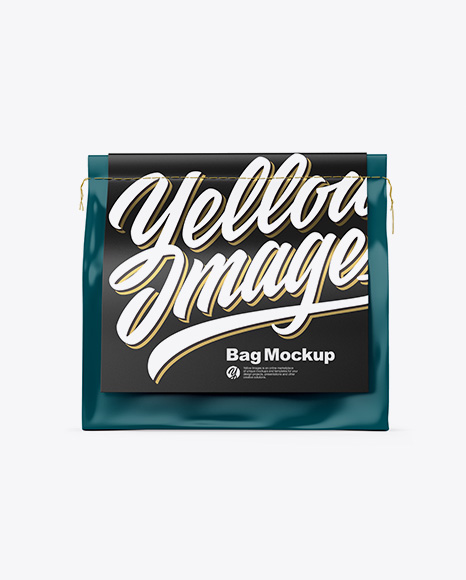 Download Free Matte Bag Mockup - Front View PSD Template