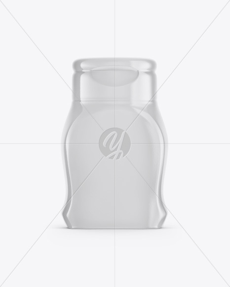 Download Matte Plastic Bottle In Shrink Sleeve Mockup Front View PSD - Free PSD Mockup Templates