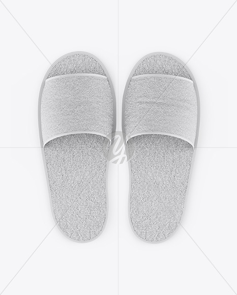 Home Slippers - Top View