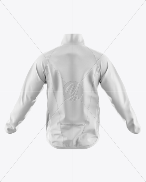 Windbreaker Mockup - Back View