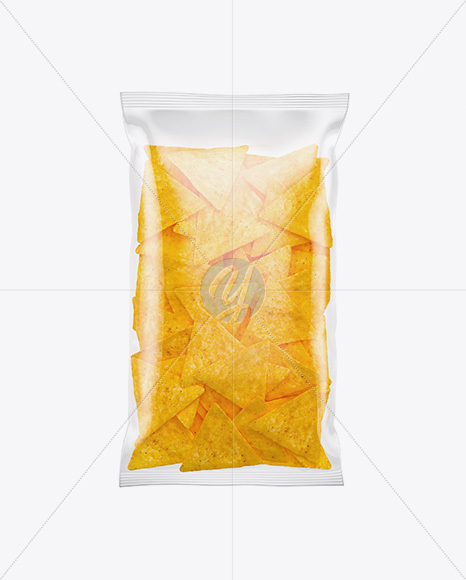 Download Plastic Food Bag Mockup In Flow Pack Mockups On Yellow Images Object Mockups PSD Mockup Templates