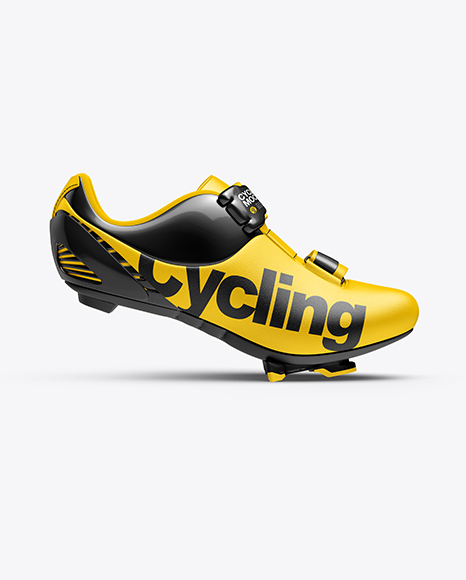Cycling Shoe Mockup - Side View