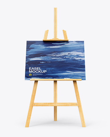 Easel Mockup - Front View