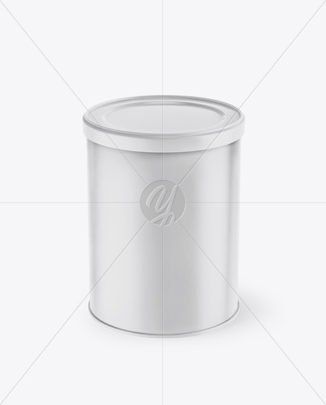 Download Two Metallic Coffee Tin Cans Mockup PSD - Free PSD Mockup Templates