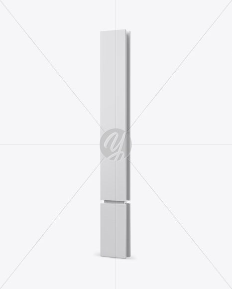 Pavement Stand Mockup - Half Side View