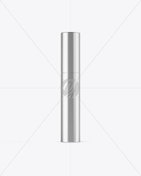 Metallic Mascara Tube Mockup