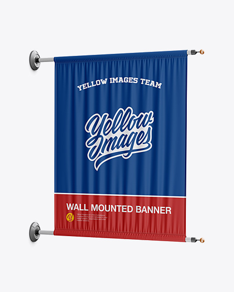 Wall Mounted Banner