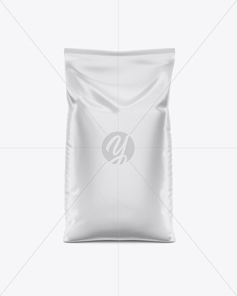 Stand Up Bag Mockup - Front View