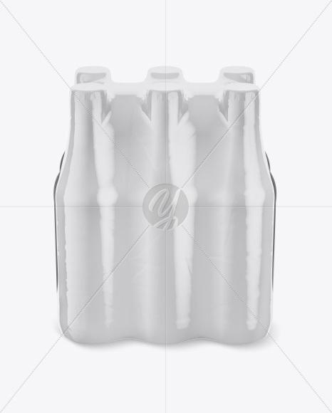 Download 6 Bottles Pack Mockup Half Side View High Angle Shot PSD - Free PSD Mockup Templates