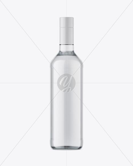 Download 500ml Clear Glass Vodka Bottle Mockup In Bottle Mockups On Yellow Images Object Mockups PSD Mockup Templates