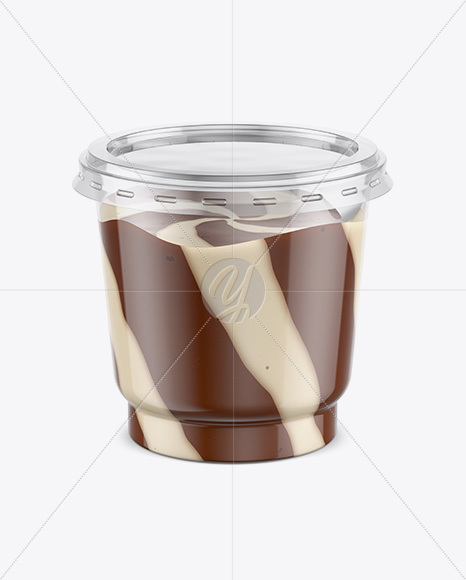 Download Clear Plastic Pack Chocolate Nuts PSD - Free PSD Mockup Templates