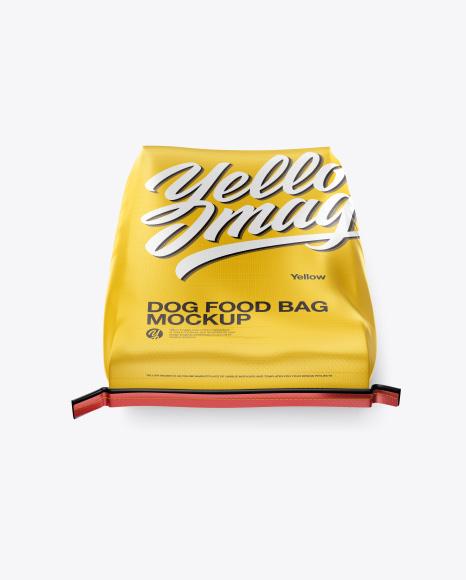 Download Dog Food Bag Mockup - High Angle Shot Object Mockups