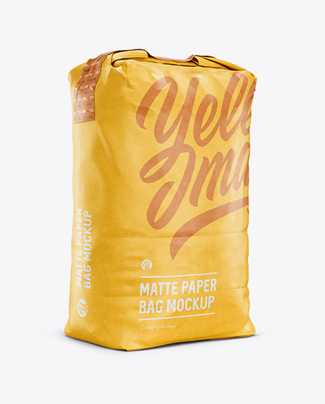 Download Paper Bag Mockup Free Psd Yellowimages