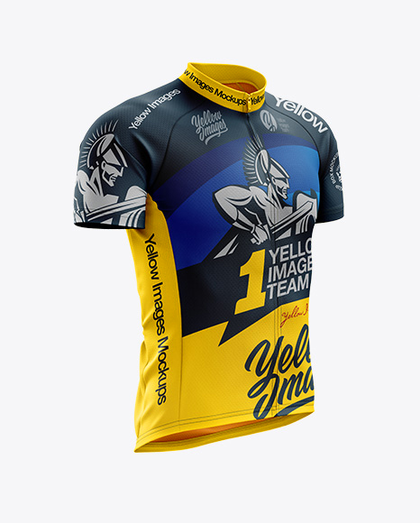 Download Men s Classic Cycling Jersey mockup (Right Half Side View) 8bb179e7aa3