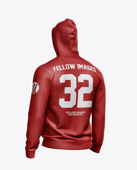 Download Hoodie With Zipper Mockup Halfside View Yellowimages