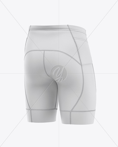 Download Mens Cycling Shorts Mockup Front View Yellowimages