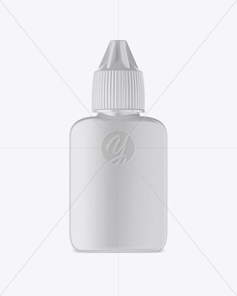 15ml Plastic Bottle Mockup
