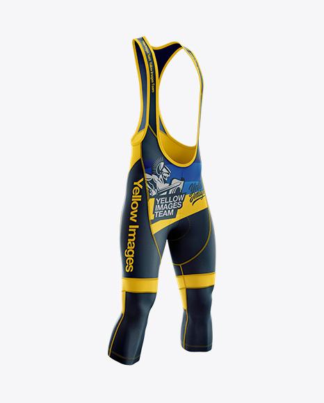 Download Flat Cycling Leg Warmer Mockup Half Side View Yellowimages