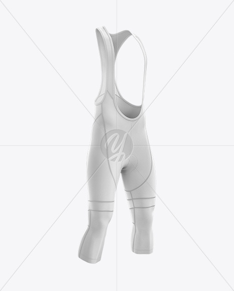 Download Mens Cycling Bib Knickers Mockup Back Half Side View Yellowimages