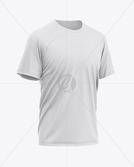 Men's Loose Fit Graphic T-Shirt - Front Half-Side View