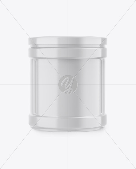 Glossy Jar Mockup - Front, Back & Side Views