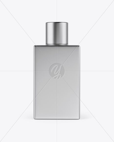 Download Metallic Square Perfume Bottle Mockup In Bottle Mockups On Yellow Images Object Mockups