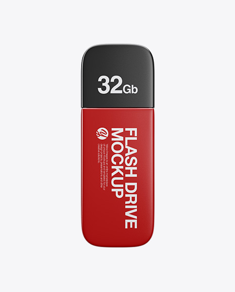 USB Flash Drive Mockup