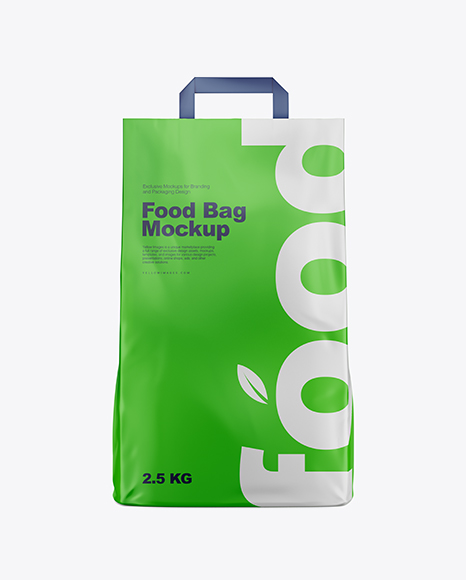 Download Matte Food Bag Mockup - Front View Object Mockups