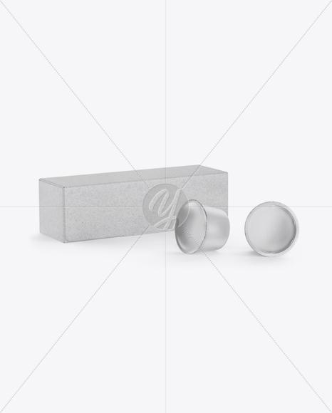 Craft Box w/ Two K-Cups Mockup