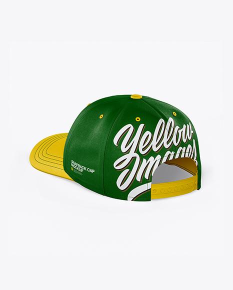 Download Snapback Cap Mockup Free Download Yellowimages