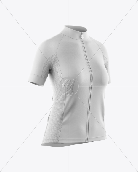 Download Mens Full Zip Cycling Jersey With Long Sleeve Mockup Back View Yellowimages