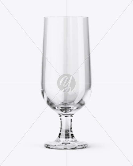 Empty Embassy Glass Mockup