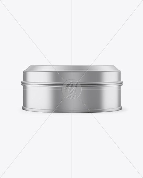 Download Metallic Round Tin Box Mockup Front View In Box Mockups On Yellow Images Object Mockups Yellowimages Mockups