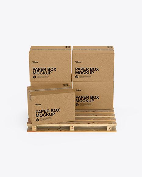 Download Psd Shipping Box Mockup PSD - Free PSD Mockup Templates