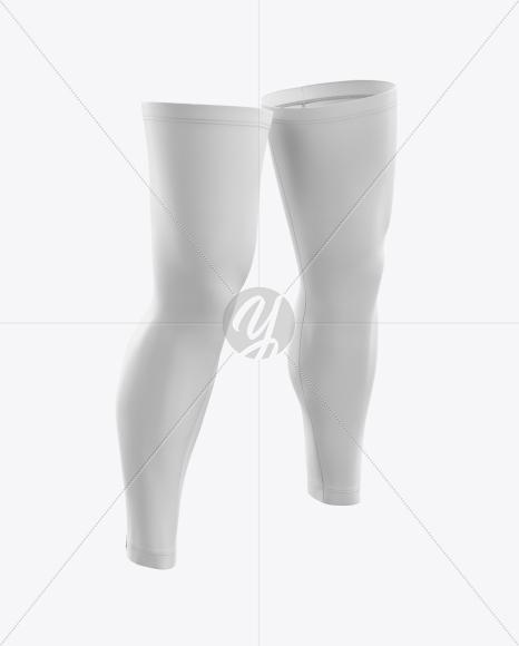 Cycling Leg Warmers mockup (Half Side View)