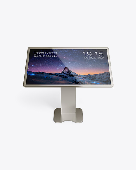 Touch Screan Display Table