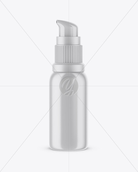 Glossy Сosmetic Bottle Mockup