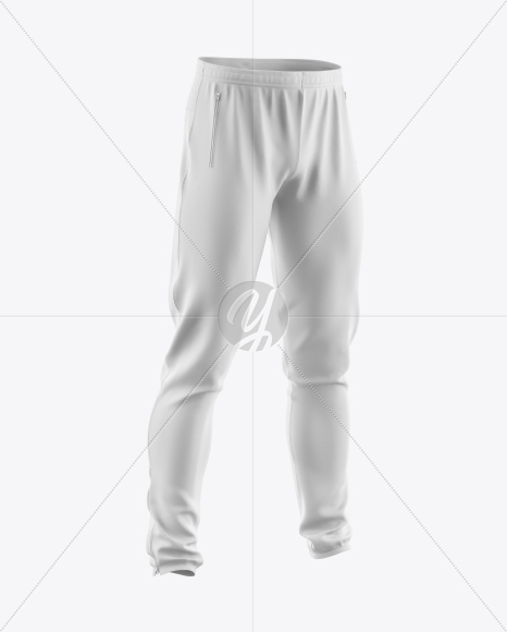Download Soccer Pants Mockup Halfside View Yellowimages