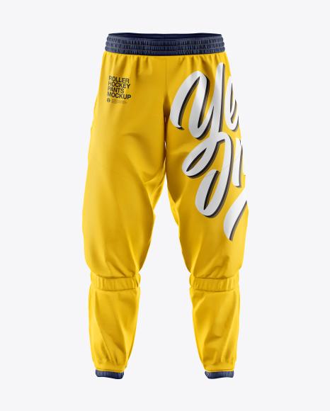 Roller Hockey Pants Mockup