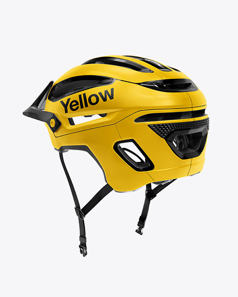Download Cycling Hat Mockup Half Side View Yellowimages