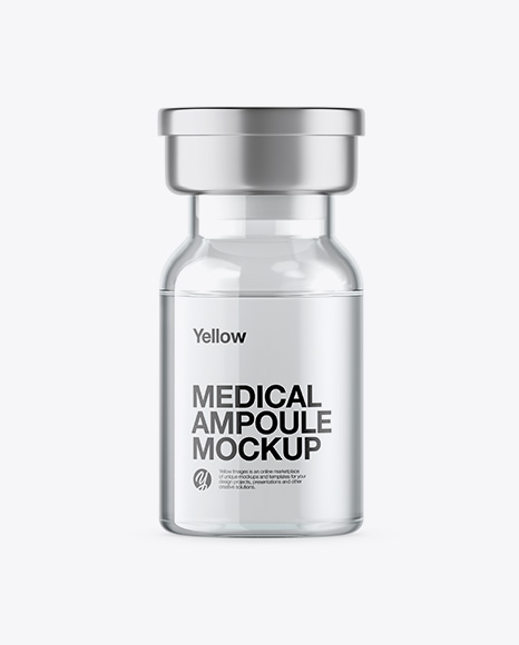 Clear Glass Medical Ampoule Packaging Mockups Free Psd Mockup