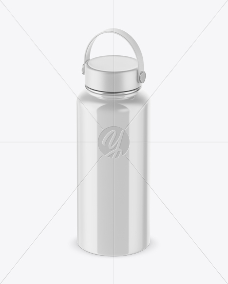 Download Glossy Water Bottle Mockup PSD - Free PSD Mockup Templates