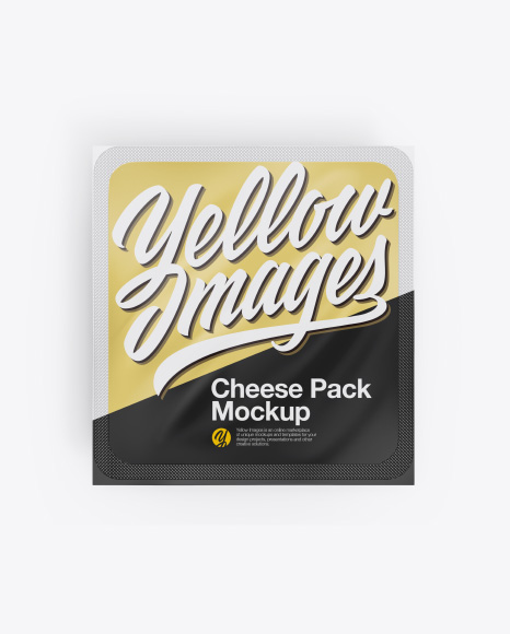 Cheese Package Mockup