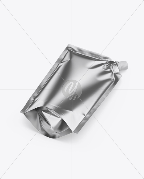 Metallic Doy-Pack Mockup