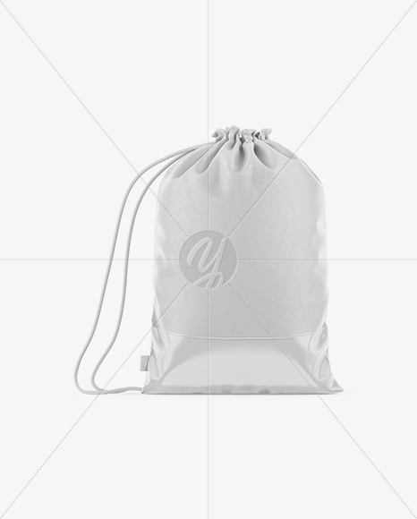 Download Glossy Gym Sack Mockup Front Half Side View Yellowimages