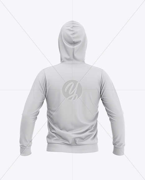 Download Short Sleeve Zip Hoodie Mockup Back Halfside View Yellow Images