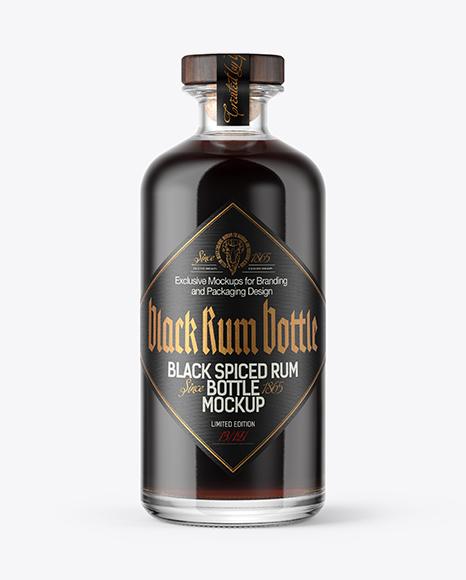 Vintage Spirits Bottles