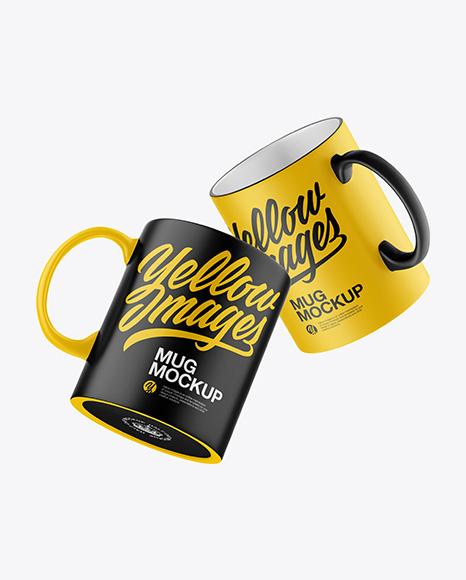 Mugs Mockup